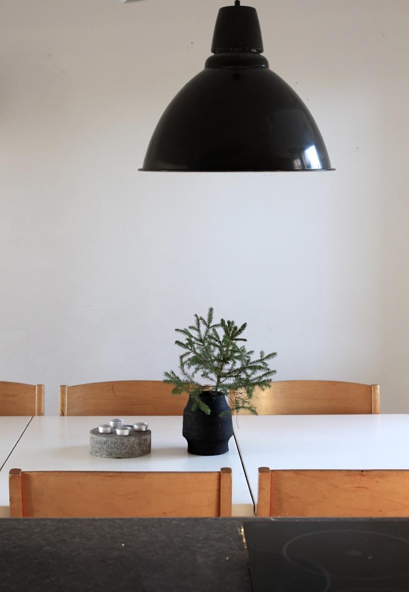 Grey Ikea pendant