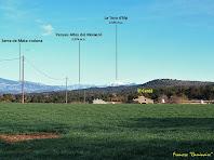 """El Cerdà amb els Pirineus al fons. Autor: Francesc """"Caminaire"""""""