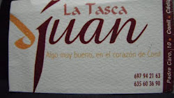 PATROCINADOR LA TASCA JUAN