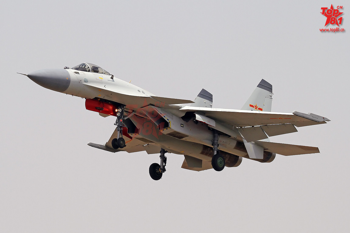Chinese J-15 Aircraft Carrier Fighter Jet