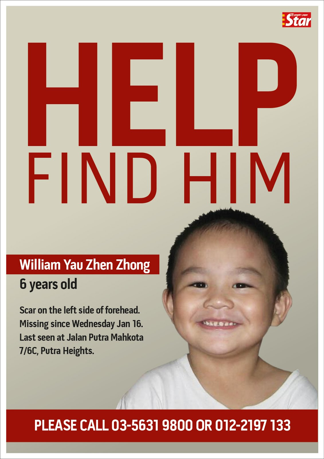 Missing Children Poster Template Malaysian hollywood 2.0: january 2013