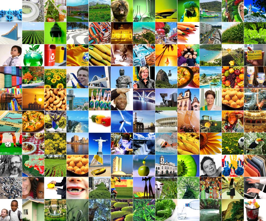 Mosaico De Imagens Do Brasil All Free Images