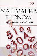 toko buku rahma: buku MATEMATIKA EKONOMI, pengarang sofjan assauri, penerbit rajawali pers