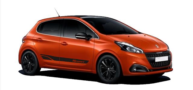 kit adesivo para Peugeot 208 modelo Sport para modelo active griffe allure