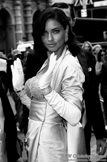 Adriana Lima - B&W Victoria's Secrets $2 million bra show off - picture 3