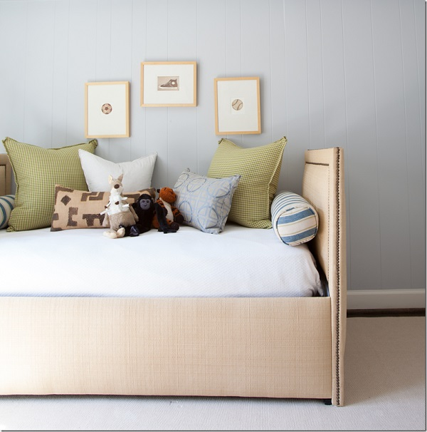 Boy Nursery With Daybed