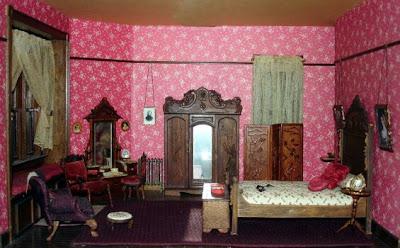 dormitorio matrimonial rosa