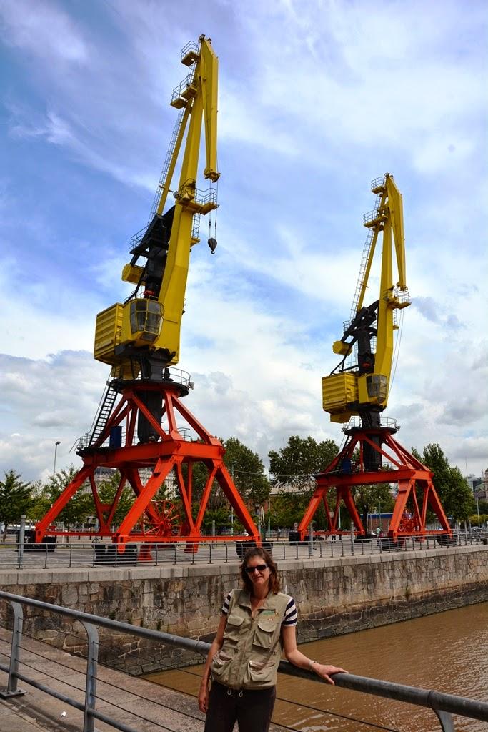 Puerto Madero Buenos Aires cranes