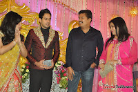Celebraties at Actor Bharat n Jessy Wedding Reception Photos+%252886%2529 Actor Bharath n Jessy Wedding Photos