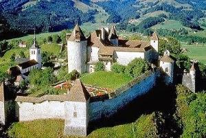 قرية جريورس سويسرا