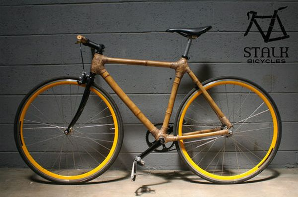 Bamboo Bicycle Bamboo Craft Photo