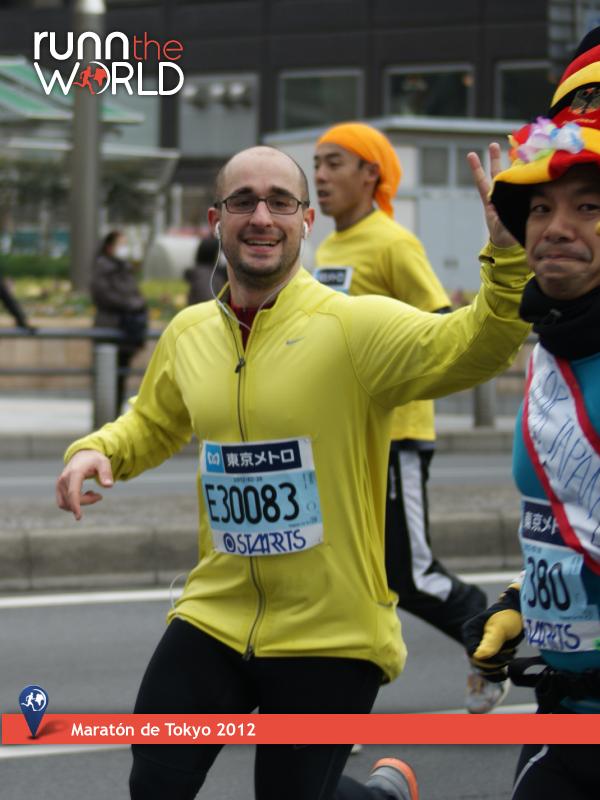72kilos Maratón de Tokyo
