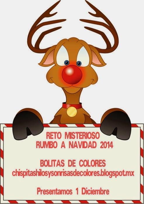 !!!!!Os invito a un reto navideño !!!!!!