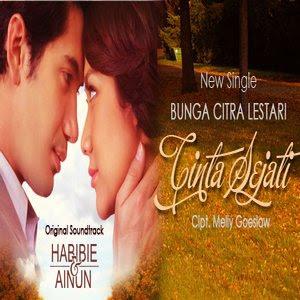 Download Lagu Bunga Citra Lestari - Cinta Sejati (Ost. Habibie & Ainun ...