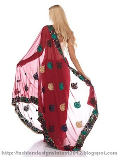 Bridal-Embroidered-Saree