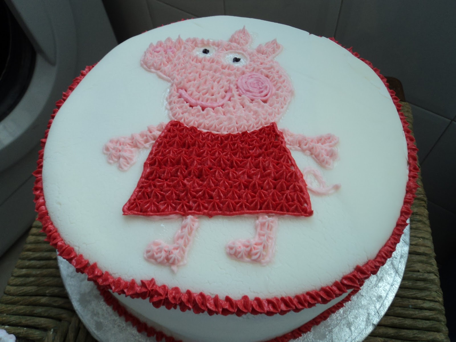 The Wandering Pit Peppa Pig Cake Some Recent Bakes