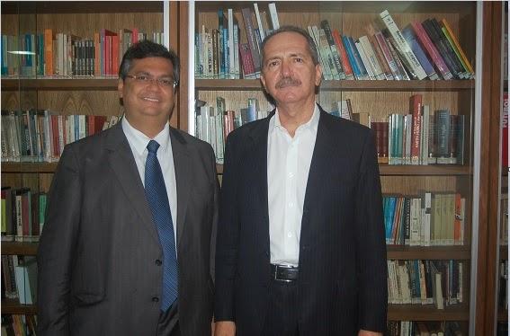Flávio Dino e Aldo Rebelo