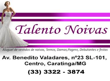 Aluguel de Ternos, Pagens, Noivas Caratinga - MG
