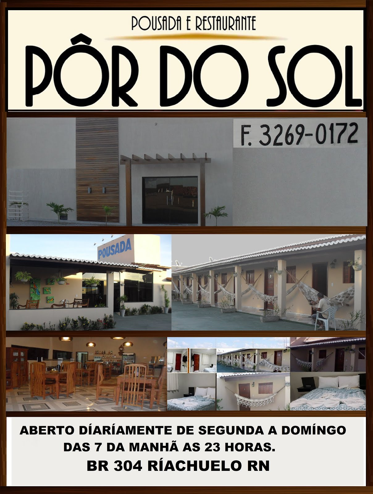POUSADA E RESTAURANTE POR DO SOL RIACHUELO RN