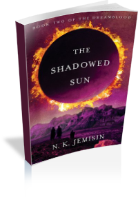 Book Cover: The Shadowed Sun by N.K. Jemisin