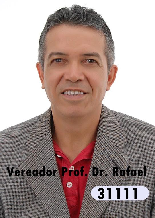 Ciências e Educação. Prof Rafael, candidato a vereador PHS 31111