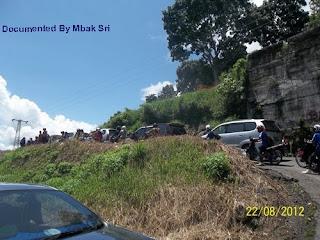 Kemacetan di Kelok Ampek Puluah Ampek Sumbar