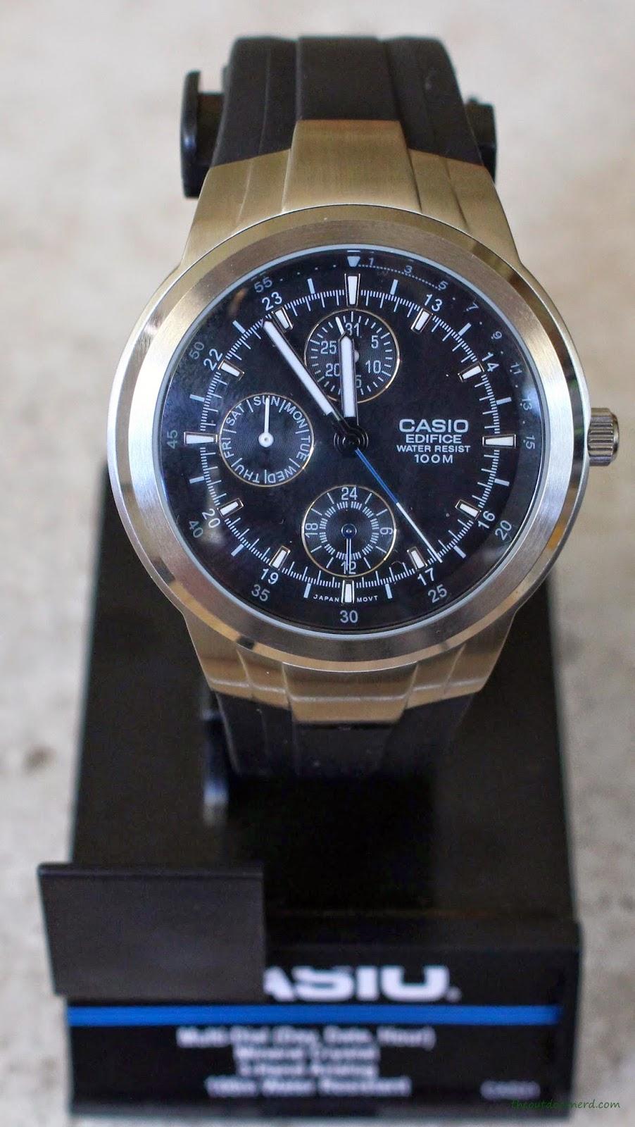 Casio Men's EF305-1AV Edifice Watch Product Link