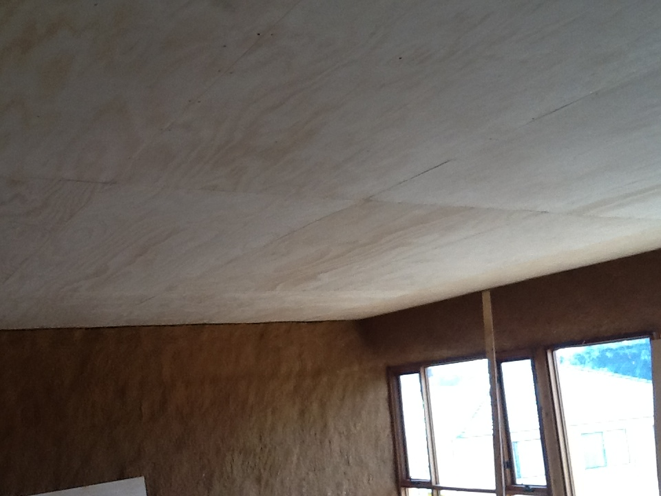Plywood walls and ceilings for Plywood wall sheathing