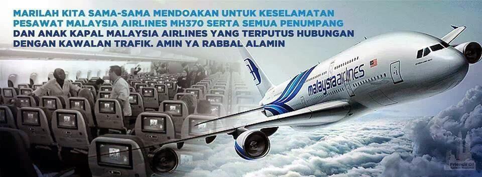 Kapal Terbang MAS Hilang