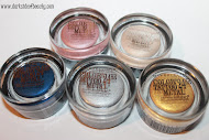 Maybelline color tatto metallic collection