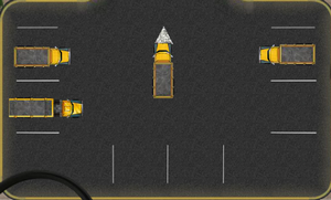 لعبة شاحنة البناء