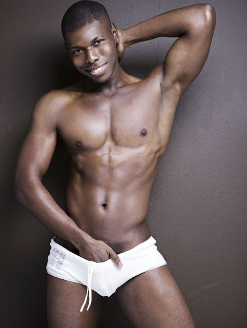 Sexy Laurence Hines in Rufksin underwear - Photo by Rick Day
