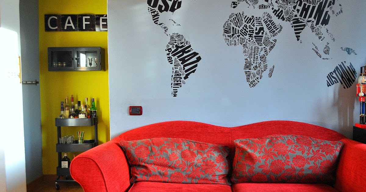 Travel decor: i wall stickers per decorare le pareti di casa