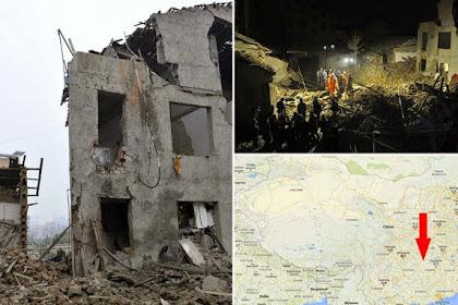 Septic Tank Meledak, Merobohkan Bangunan dan Melukai 15 Orang