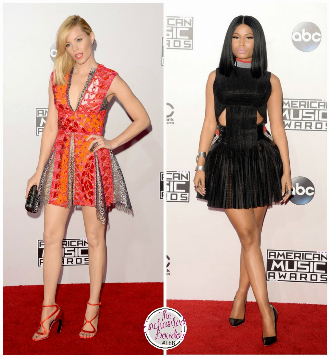 amas2014 red carpet