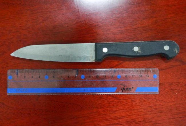 Woman Rushed To Hospital With Knife Lodged Inside Her Head