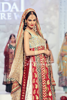 bridal couture week 2011 Pakistan