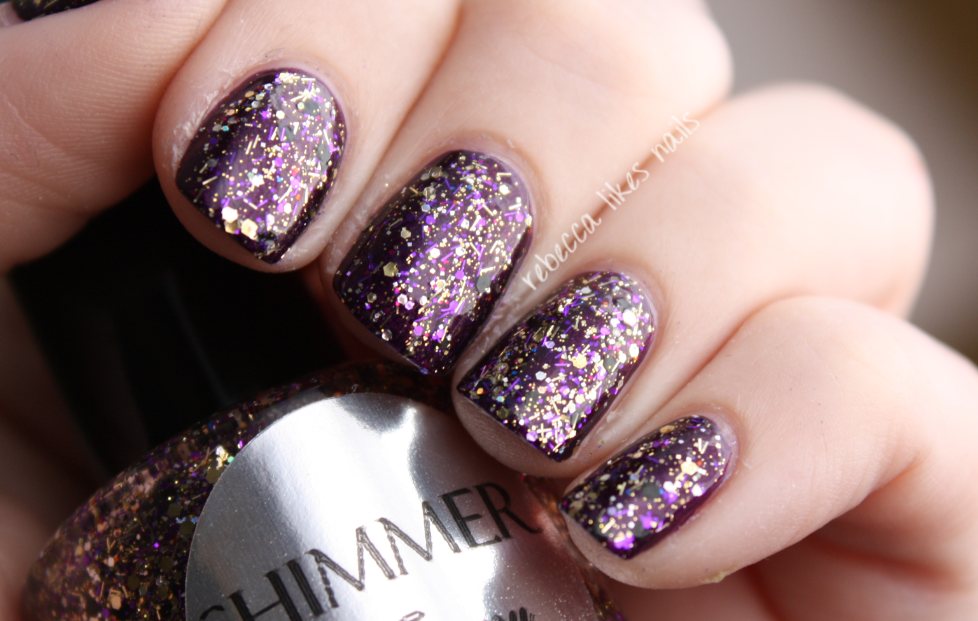 Tammy: Silver Bars with Purple, Gold& Black