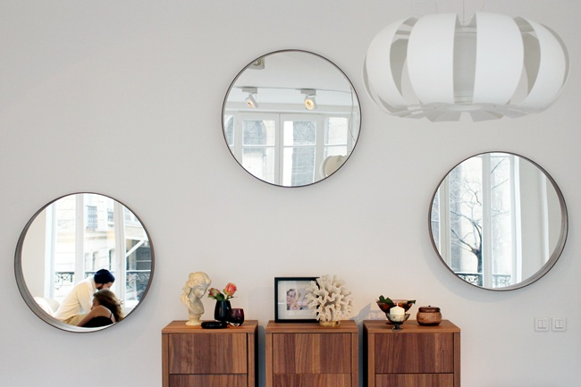 Ikea stockholm collection bungalow home staging redesign for Ikea espejos grandes