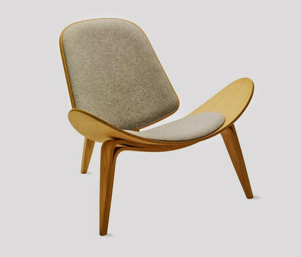 CadeiCadeira Shell também conhecida como Cadeira Sorriso ou Tree-legged Chair