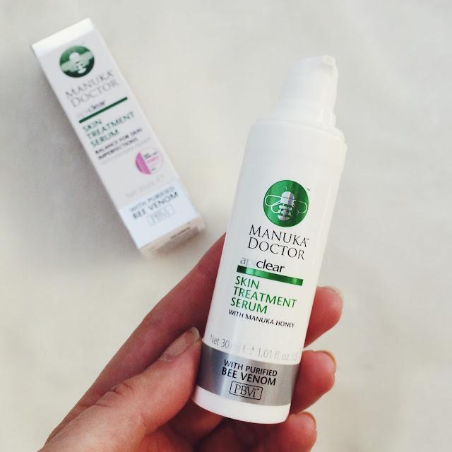 Manuka Doctor Foaming Facial Cleanser review, Manuka Doctor Apiclear Skin treatment Serum review, Manuka Doctor Brightening Facial Oil review