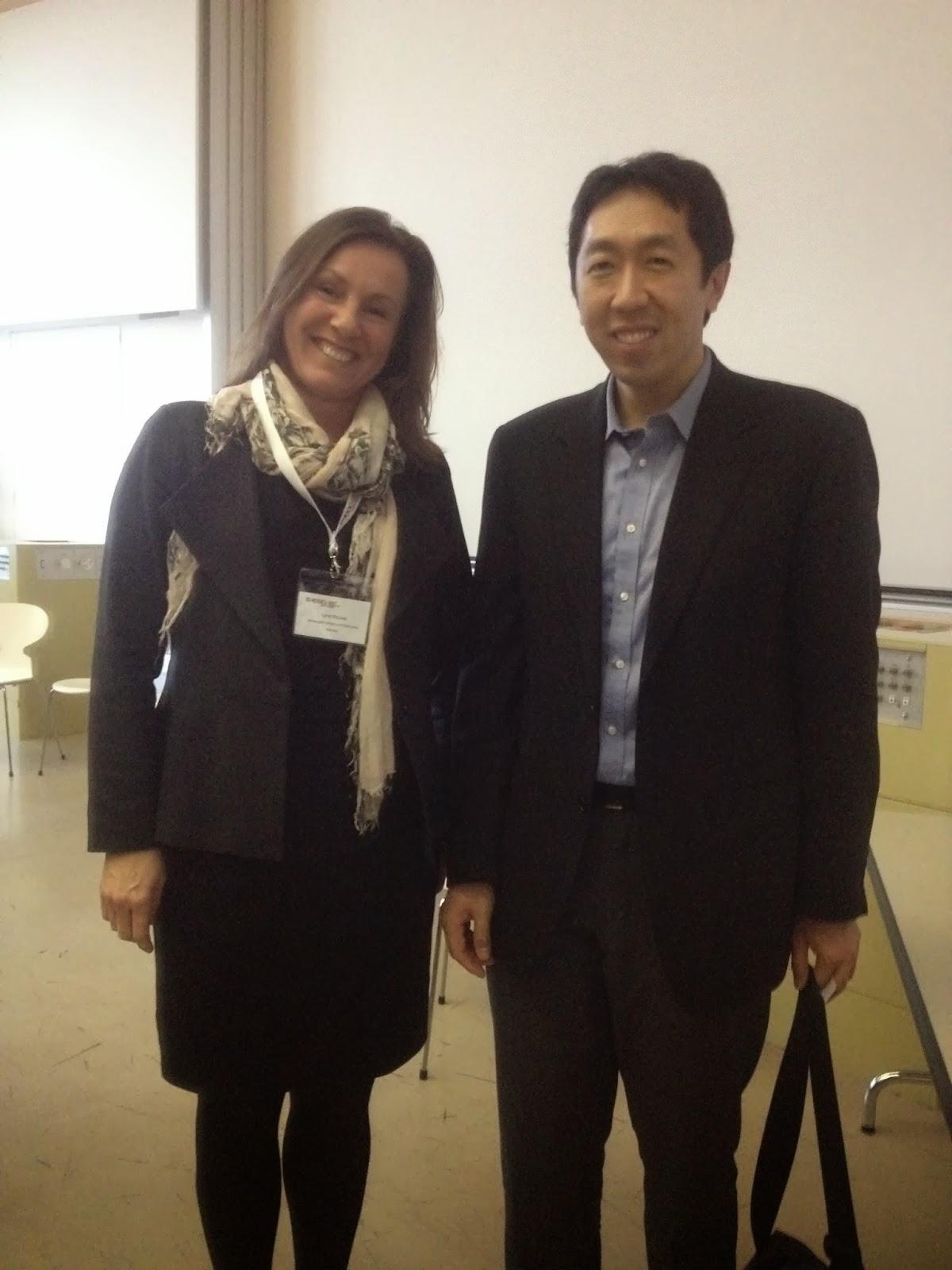 June i møte med Andrew Ng fra Coursera