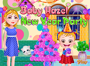Baby Hazel New Year