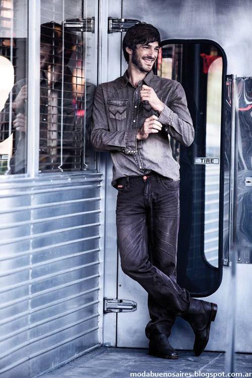Moda otoño invierno 2014 Wrangler ropa de hombre