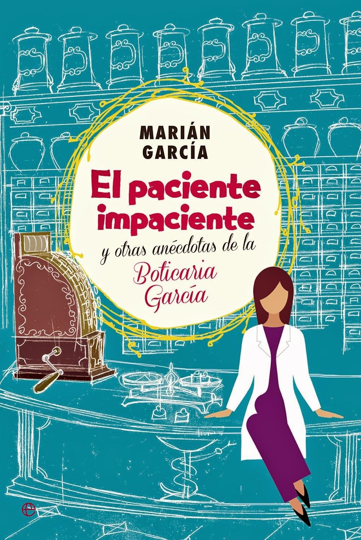 Libro El paciente impaciente, Boticaria García
