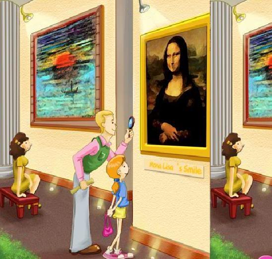 Visitar el Museo Juego de Visitar un Museo