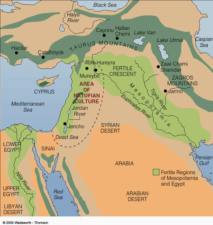 fertile crescent map today - photo #3