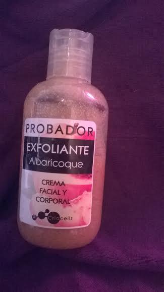 Criacells; exfoliante albaricoque