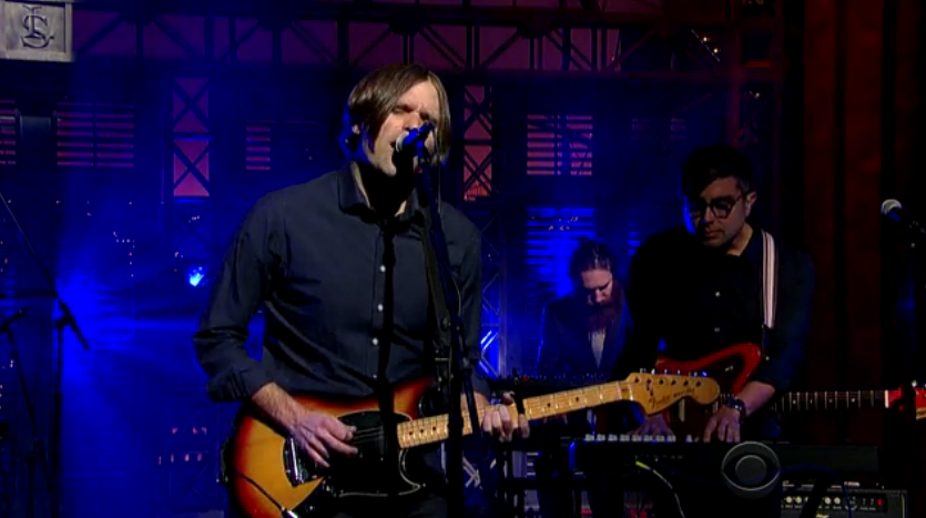 death cab for cutie dcfc david letterman black sun cbs