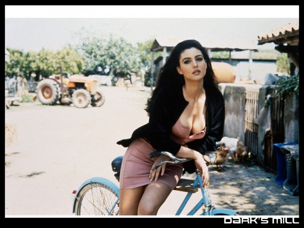 Bikes For Big People Monica Bellucci from the